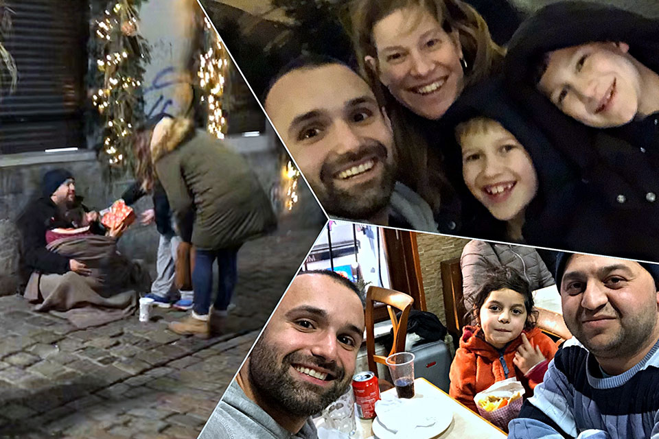 A Homeless Family and a Kebab: this is how Xmas happened to me for the first time